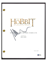 """Martin Freeman Signed """"The Hobbit: An Unexpected Journey"""" Movie Script (Beckett COA) at PristineAuction.com"""
