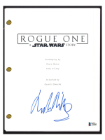 """Mads Mikkelsen Signed """"Rogue One: A Star Wars Story"""" Movie Script (Beckett COA) at PristineAuction.com"""