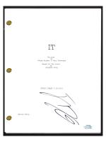 "Jack Dylan Grazer Signed ""IT"" Movie Script (AutographCOA COA) at PristineAuction.com"