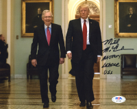 "Mitch McConnell Signed 8x10 Photo Inscribed ""Majority Leader USS"" (PSA COA) at PristineAuction.com"