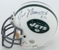 Joe Namath Signed Jets Mini Helmet (JSA COA) at PristineAuction.com