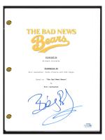 "Billy Bob Thornton Signed ""The Bad News Bears"" Movie Script (AutographCOA COA) at PristineAuction.com"