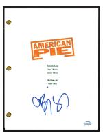 """Jason Biggs Signed """"American Pie"""" Movie Script (AutographCOA COA) at PristineAuction.com"""