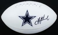 Troy Aikman Signed Cowboys Logo Football (Beckett COA) at PristineAuction.com