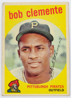 Roberto Clemente 1959 Topps #478 at PristineAuction.com