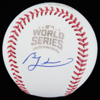Ben Zobrist Signed 2016 Cubs World Series Series Baseball (Beckett COA) at PristineAuction.com