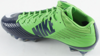 Russell Wilson Signed Nike Football Cleat with Display Case (PSA COA) at PristineAuction.com