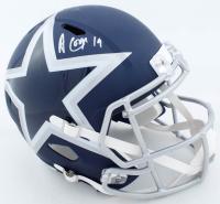 Amari Cooper Signed Cowboys Full-Size AMP Alternate Speed Helmet (Beckett Hologram & JSA Hologram) at PristineAuction.com