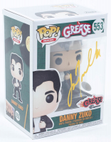 "John Travolta Signed ""Grease"" #553 Danny Zuko Funko Pop! Vinyl Figure (JSA COA) at PristineAuction.com"