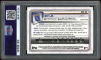 Bobby Witt Jr. 2020 Bowman Chrome Mega Box Prospects Gold Refractors #BCP25 (PSA 9) at PristineAuction.com