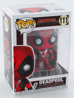 "Ryan Reynolds Signed ""Deadpool"" #111 Funko Pop Vinyl Figure (Beckett COA) at PristineAuction.com"