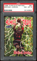 Michael Jordan 1998-99 Fleer Electrifying #6 (PSA 8) at PristineAuction.com