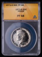 1971-S Kennedy Half Dollar (ANACS PF68) at PristineAuction.com