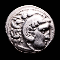 "Alexander III ""The Great"" 336-323 B.C. Kingdom of Macedon AR Drachm Ancient Greek Silver Coin at PristineAuction.com"