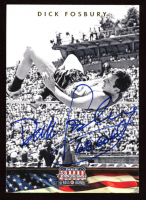 Dick Fosbury Signed 2012 Americana Heroes and Legends #81 (JSA COA) at PristineAuction.com