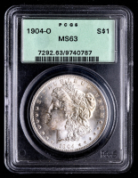 1904-O Morgan Silver Dollar (PCGS MS63) (OGH) at PristineAuction.com