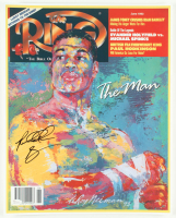 "Riddick Bowe Signed ""The Ring"" 16x20 Photo (JSA COA) at PristineAuction.com"