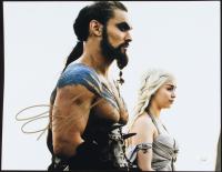 "Jason Momoa Signed ""Game of Thrones"" 11x14 Photo (JSA COA) at PristineAuction.com"