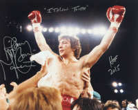 "Ray ""Boom Boom"" Mancini Signed 16x20 Photo Inscribed ""HOF 2015"" & ""Italian Tough"" (JSA COA) at PristineAuction.com"
