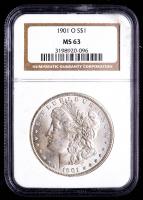 1901-O Morgan Silver Dollar (NGC MS63) at PristineAuction.com