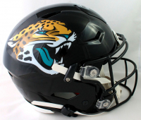 "Fred Taylor Signed Jaguars Speedflex Authentic On-Field Full-Size Helmet Inscribed ""11,695 Rushing Yds"" (Beckett COA) at PristineAuction.com"