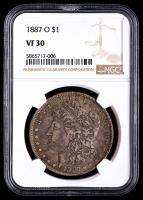 1887-O Morgan Silver Dollar (NGC VF30) at PristineAuction.com