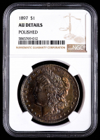 1897 Morgan Silver Dollar (NGC AU Details) at PristineAuction.com