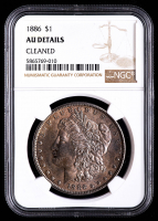 1886 Morgan Silver Dollar (NGC AU Details) at PristineAuction.com