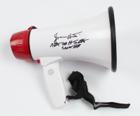 "Jimmy Hart Signed Megaphone Inscribed ""Mouth of the South"" & ""2005 HOF"" (PSA Hologram) at PristineAuction.com"