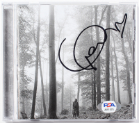 """Taylor Swift Signed """"Folklore"""" CD Disc Cover (PSA COA) at PristineAuction.com"""