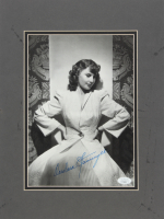 Barbara Stanwyck Signed 12x16 Custom Matted Photo Display (JSA COA) at PristineAuction.com
