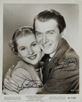 James Stewart & Joan Fontaine Signed 8x10 Photo (JSA COA) at PristineAuction.com
