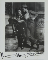 "James Stewart & Marlene Dietrich Signed 1939 ""Destry Rides Again""  8x10 Photo (JSA COA) at PristineAuction.com"