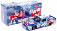 Ken Schrader Signed LE #36 M&M's / 4th Of July 2002 Grand Prix 1:24 Scale Die Cast Car (JSA COA) at PristineAuction.com