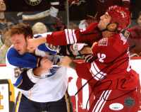 Paul Bissonnette Signed Coyotes 8x10 Photo (JSA COA) at PristineAuction.com