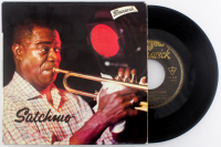 "Louis Armstrong Signed ""Satchmo"" Mini Vinyl Record Album Cover (JSA ALOA) at PristineAuction.com"