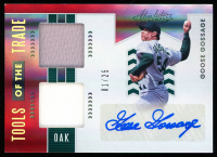 Goose Gossage 2020 Absolute Tools of the Trade Dual Swatch Signatures Spectrum Red #19 at PristineAuction.com
