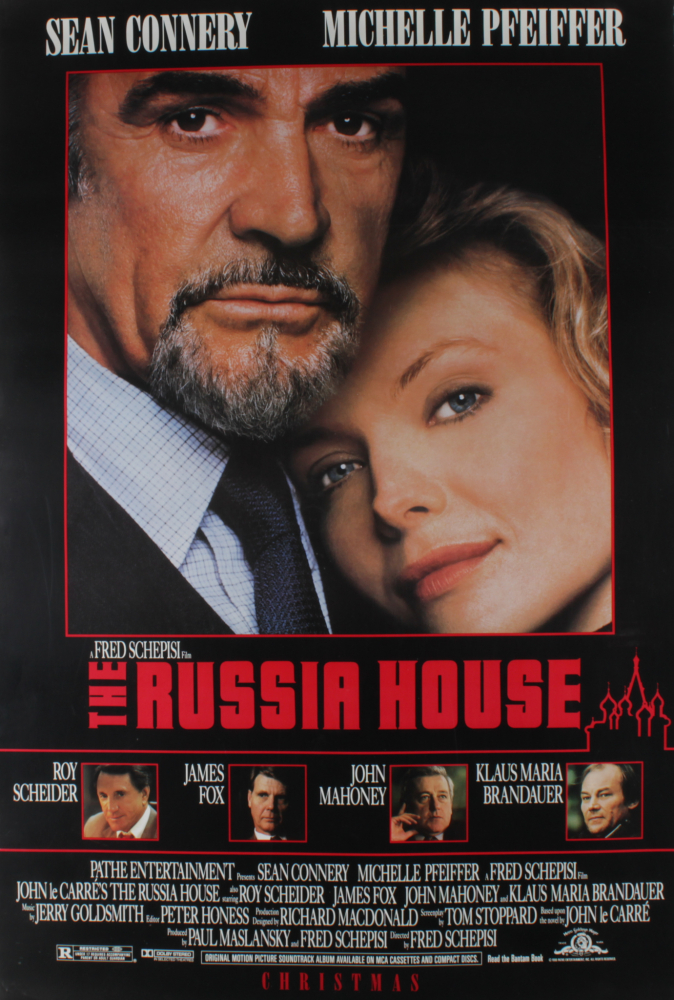 """""""The Russia House"""" 27x40 Movie Poster at PristineAuction.com"""