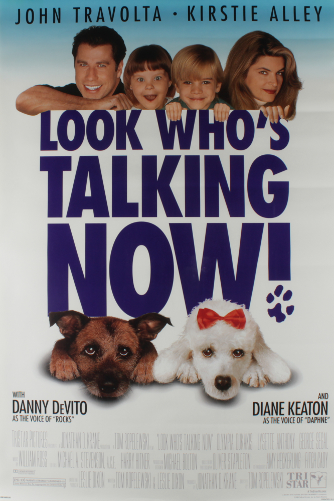 """""""Look Who's Talking Now!"""" 27x40 Movie Poster at PristineAuction.com"""