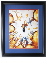 """Superman"" 16x23 Custom Framed Photo Display at PristineAuction.com"
