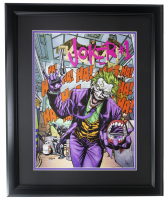 """The Joker"" 16x23 Custom Framed Photo Display at PristineAuction.com"