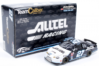 """Ryan Newman Signed LE #27 ALLTELL / Mobil 1 """"Faith"""" 2000 Ford Taurus 1:24 Scale Die Cast Car (JSA COA) at PristineAuction.com"""