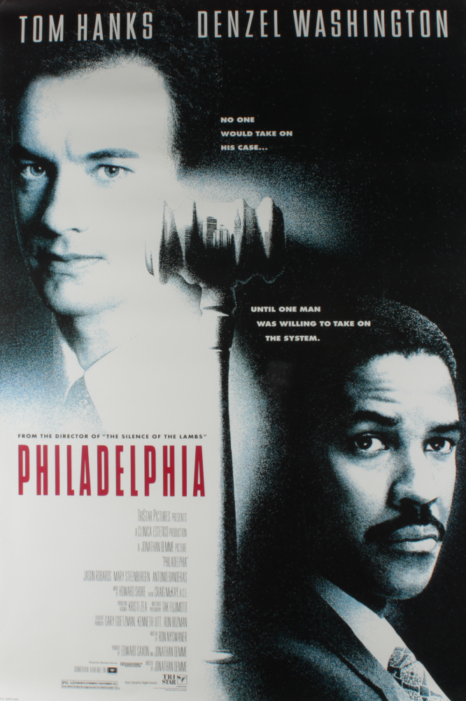 """Philadelphia"" 27x40 Movie Poster at PristineAuction.com"