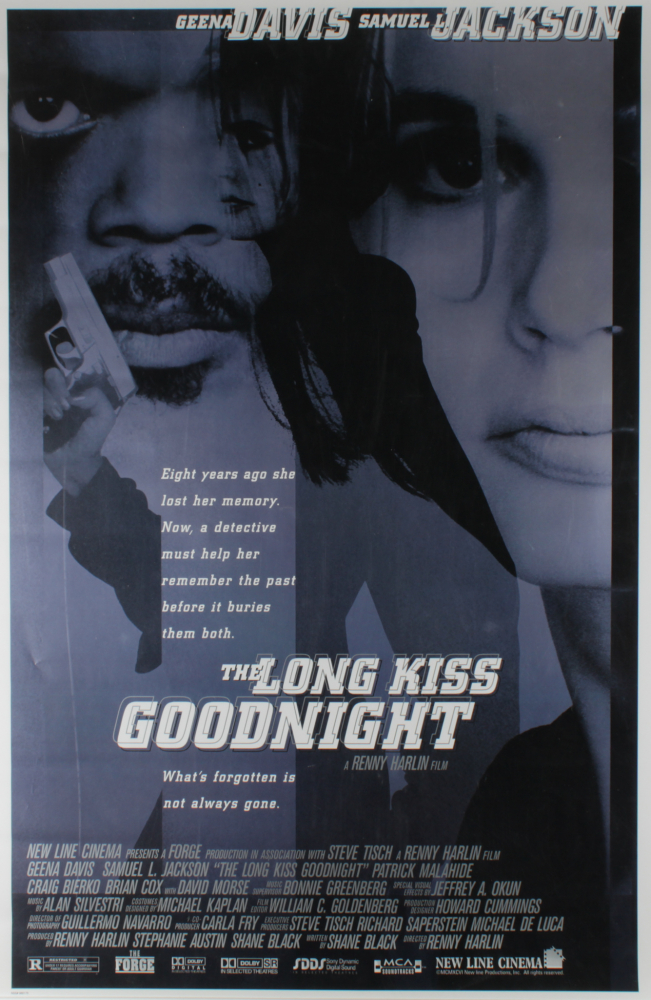 """The Long Kiss Goodnight"" 27x40 Movie Poster at PristineAuction.com"