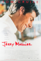 """Jerry MaGuire"" 27x40 Movie Poster at PristineAuction.com"
