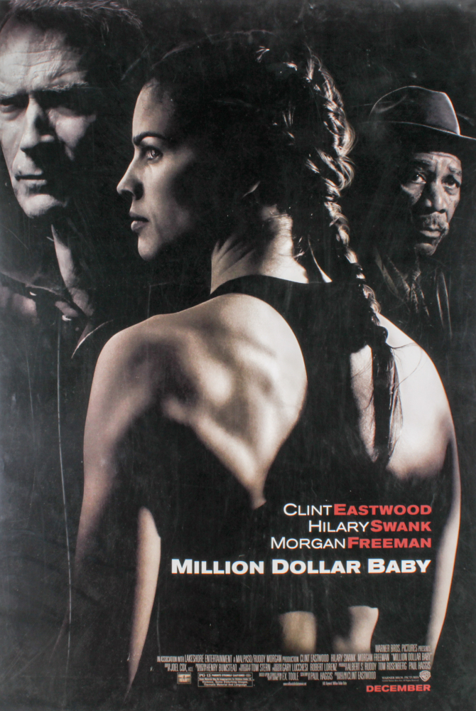 """Million Dollar Baby"" 27x40 Movie Poster at PristineAuction.com"