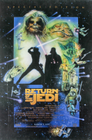 """Return Of The Jedi"" 20th Anniversary Special Edition 27x40 Movie Poster at PristineAuction.com"