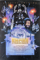 """The Empire Strikes Back"" 20th Anniversary Special Edition 27x40 Movie Poster at PristineAuction.com"
