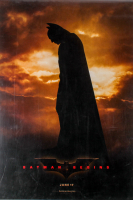 """Batman Begins"" 27x40 Movie Poster at PristineAuction.com"
