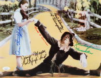 """""""The Wizard of Oz"""" 11x14 Photo Cast-Signed by (5) with Ruth Duccini, Karl Slover, Mickey Carroll, Jerry Maren & Donna Stewart-Hardway with (3) Inscriptions (JSA COA) at PristineAuction.com"""